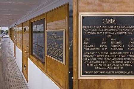 Canim plaque
