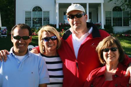 Albert, Lisa, Brian & Sarah
