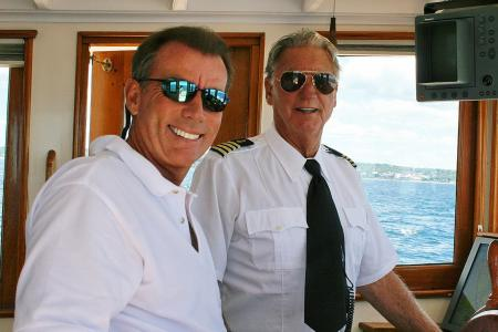 Marty Sutter & Captain Hall