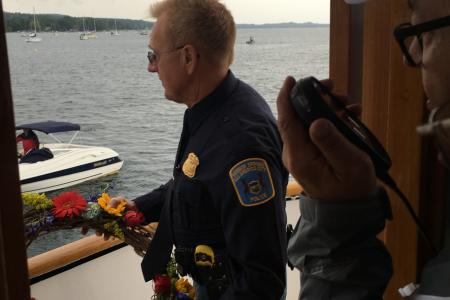 Retiring Chief Dan Branson, Fifth Blessing of the Fleet