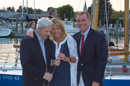 Dick Wallin, Lisa & Marty