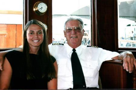Evann  & Captain Hall