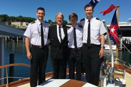 Tyge, Captain Hall, Ben & Jeff