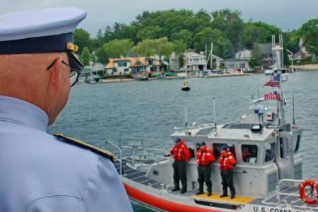 Admiral Papps & Coast Guard Second Blessing of the Fleet